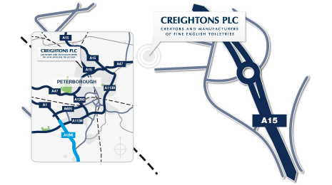 Download Directions to Creightons Plc